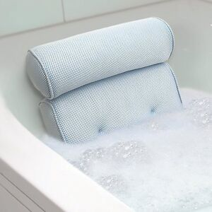 Image Is Loading Bath Tub Spa Pillow Cushion Neck Back Support
