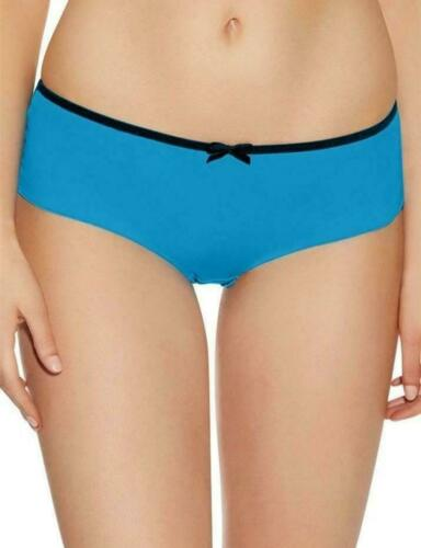 Freya Deco Short Vibe Size S 10 12 Electric Blue Mesh Brief Knickers 1706 New