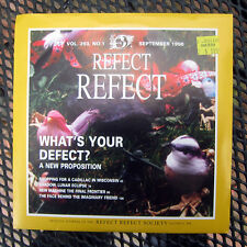 """REFECT REFECT """"WHAT'S YOUR DEFECT"""" KILL ROCK STARS 263 (1996) 7"""" EP EX CONDITION"""