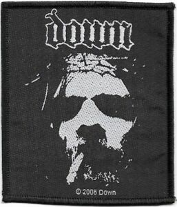Official-Licensed-Merch-Woven-Sew-on-PATCH-Heavy-Metal-Rock-DOWN-Face