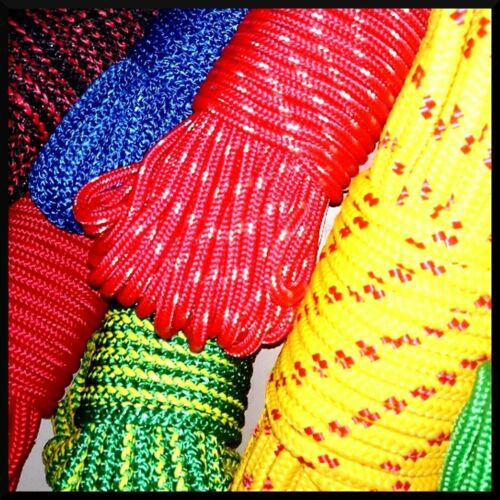14mm PolyPropylene Rope Braided Cord Wire Twine Strand Strong String Line Sport
