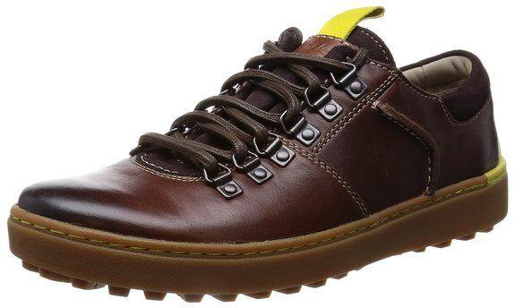 Clarks Homme  X Nanu Multi  Cuir Acajou Chaussures UK 6,7,8 G