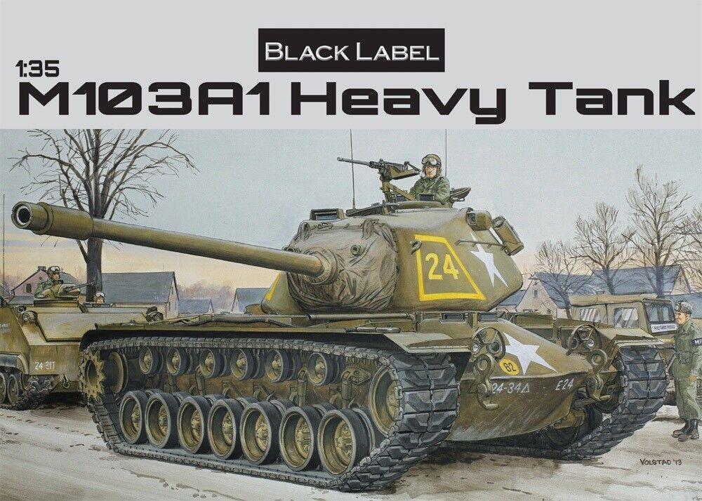 DRAGON 3548 3548 3548 M103A1 Heavy Tank  | Zahlreiche In Vielfalt  0140a1