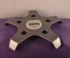 Momo Grey Custom Wheel Center Cap Set of One (1)