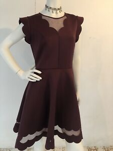 Beautiful-Ted-Baker-Dress-Size-3-12-Worn-Once