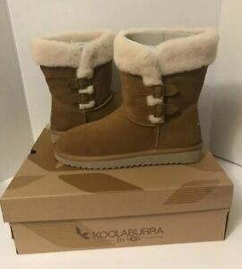 55506b36538 Details about Kookaburra BY UGG Sulana Short 1018823 Size 12 100% Authentic  Chestnut NEW**