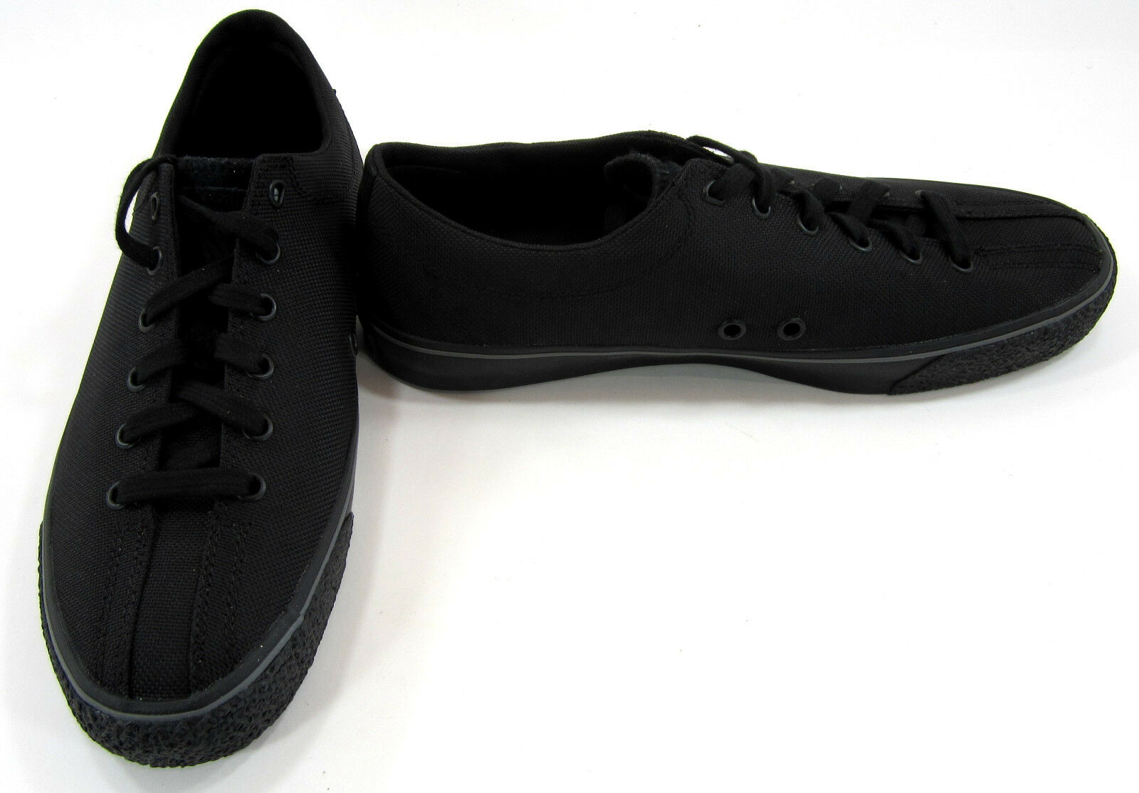 K-Swiss shoes Casual Canvas Lo Chucks Black Sneakers Size 9
