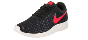 Nike Men's Tanjun SE Running shoes 844887 005 Black Solar Red Pure Platinum Sail