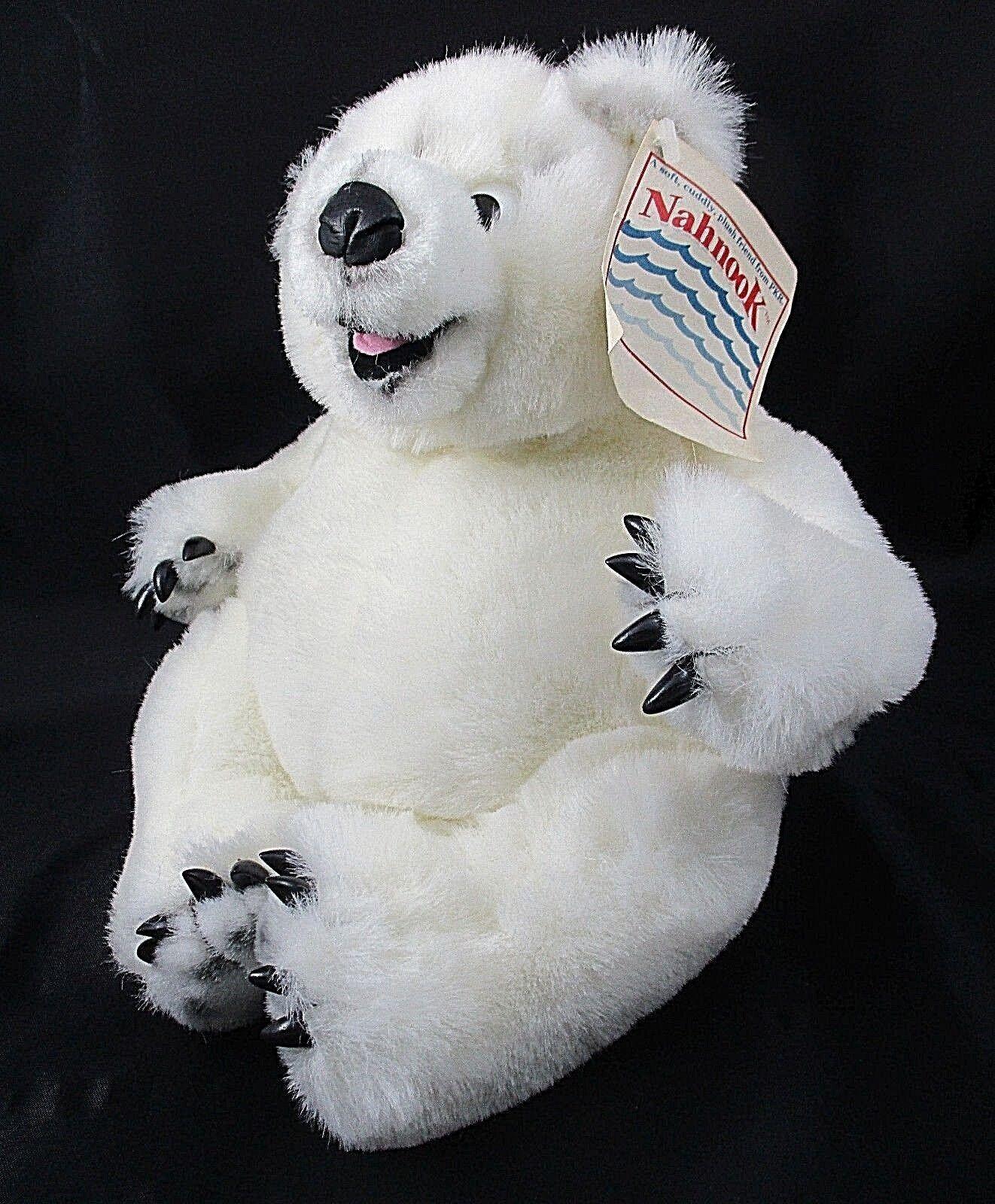 Nahnook Plush Polar Bear Nanook Abominable Snowman 1992 PKR Corporation Vintage