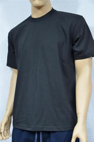 2 NEW PROCLUB 4XLT TALL HEAVY WEIGHT T-SHIRTS BLACK PLAIN TEE PRO CLUB BLANK 2PC