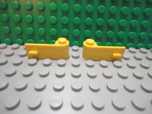 Lego 1 pair of Yellow car truck door 1x3x1 NEW
