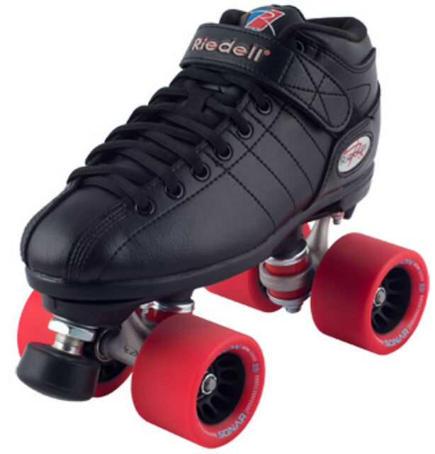 Riedell Quad Roller Skates R3 Speed Halo
