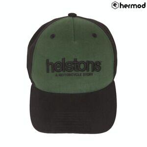 Helstons Corporate Hat Cap - Green/Black