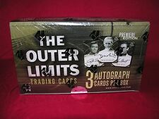 The Outer Limits Premiere Edition Trading Card Box by Rittenhouse 3 AUTOS/BOX!