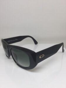 bf693abe1b0d0 New Vintage Christian Dior CD 2556 Sunglasses C. 90 Black   Gold ...