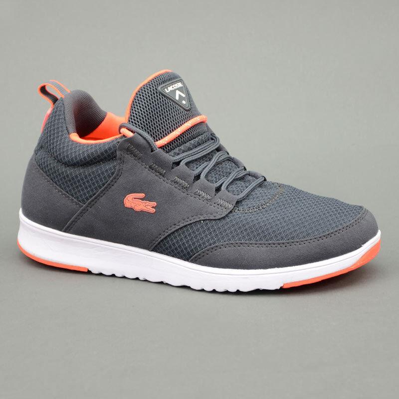 Lacoste zapatos LACOSTE LIGHT BASE 01 gris Scuro mod. GRY-DW1