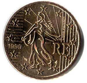 France 1999 50 centimes d'euro FDC BU Scellée provenant d'un coffret