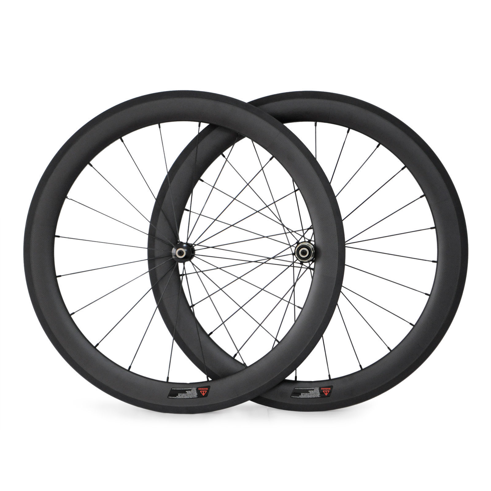 700C 60mm Straight Pull Carbon Road Bike Wheels RacingBicycle Wheelset 23mmWidth