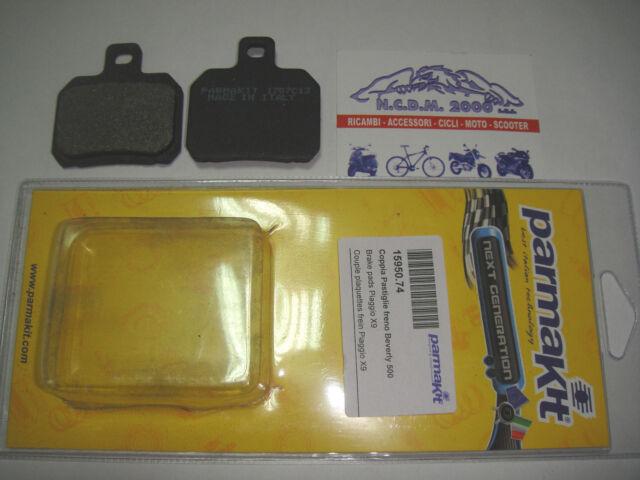 BRAKE PADS PARMAKIT REAR MBK 125 THUNDER 01 > 15950.74