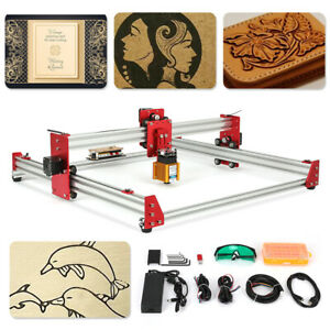 NEW DIY Wood Carving Engraving Machine 5500mw CNC Laser Engraving Machine