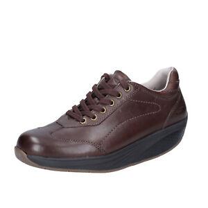 scarpe-donna-MBT-36-EU-sneakers-marrone-pelle-performance-BT62-36