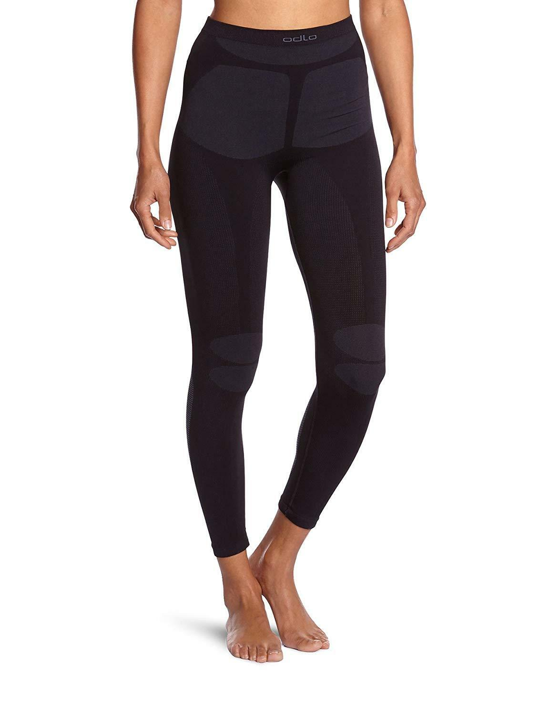 Odlo Women's Evolution Warm Baselayer Fitness Pants Size Large