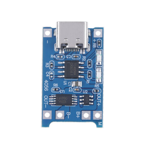 Type-C TP4056 18650 lithium battery charging board 5V 1A protection modul/_vi