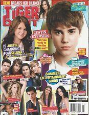 Tiger Beat magazine Justin Bieber Selena Gomez Taylor Swift Demi Lovato Posters