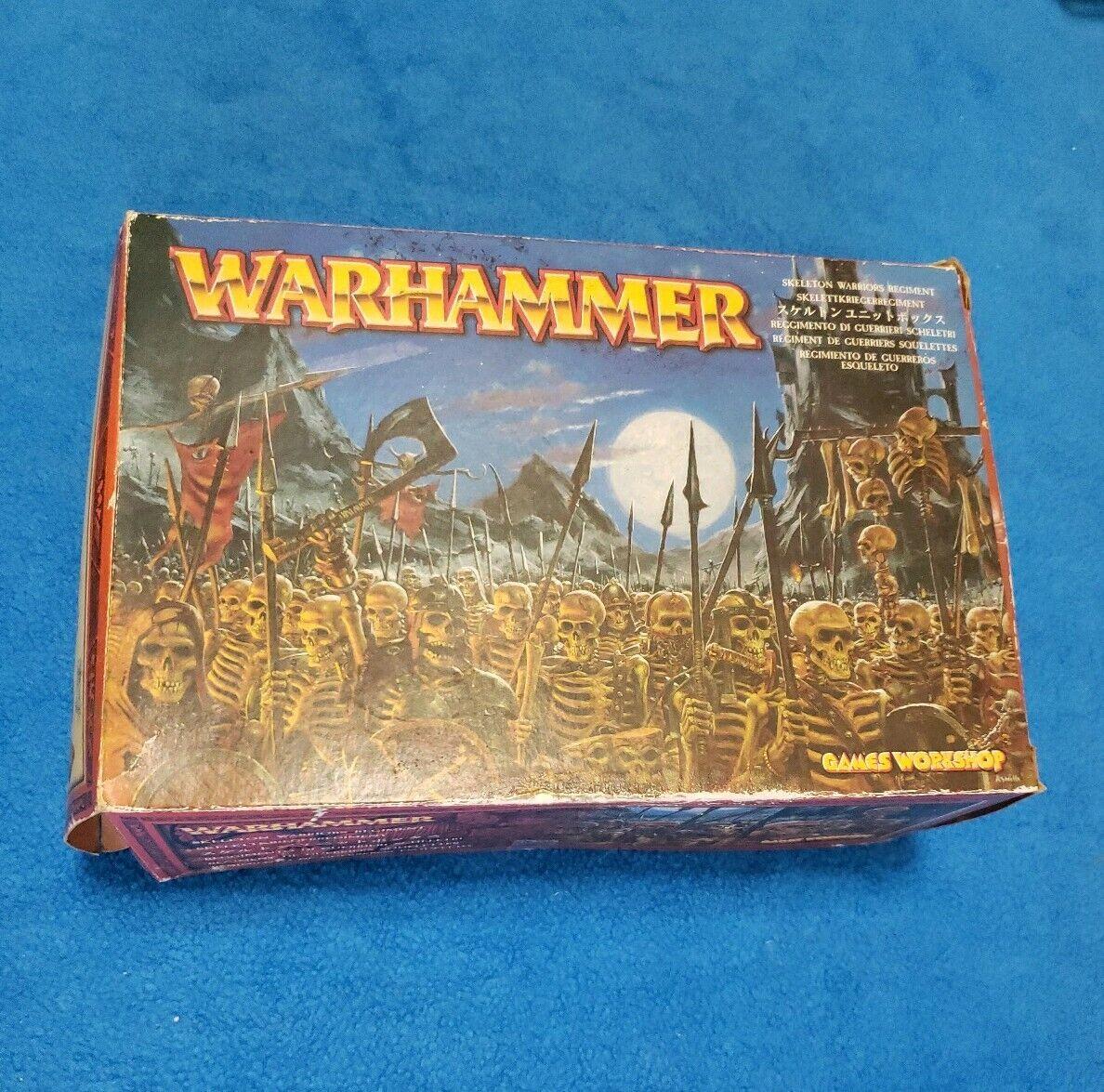 Warhammer Regimiento de Guerreros Esqueleto