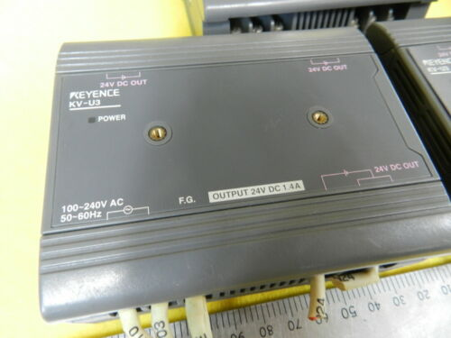 Details about  / 24V 1.4A KEYENCE // KV-U3 // Power Supply 1pcs Used