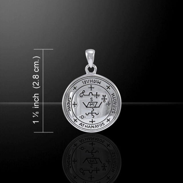 Medieval Celtic Cross .925 Sterling Silver Pendant by Peter Stone