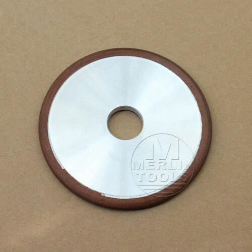 "100mm 4"" Straight 20mm Hole Arc Diamond Grinding Wheel Radius 3mm Grit 150"