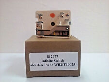 """WB24T10025 8""""Infinite Switch for GE Electric Range Burner AP2024072 PS236750"""
