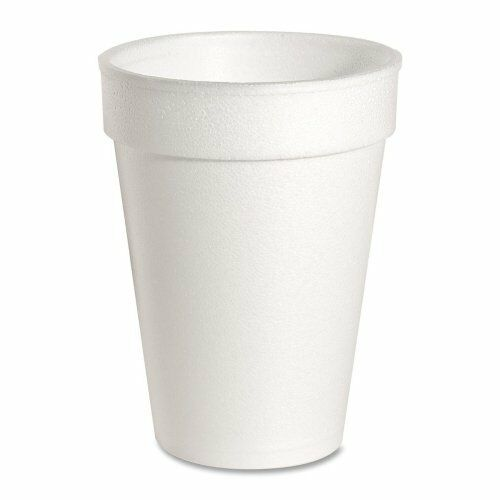 Genuine Joe Hot cold Foam Cup - 10 Oz - 1000 carton - White (GJO58551)