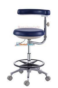 pas mal 2be80 23a26 Détails sur Siège dentaire Tabouret médecin dentiste mobile Classic avec  repose-bras QY-500N
