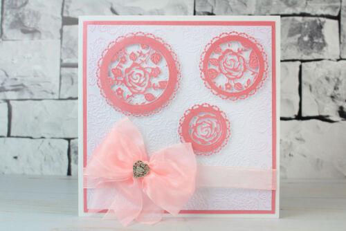 Nouveau Tattered Lace Essentials Pearl Cercles Craft Die Set ETL092-GRATUIT UK p/&p