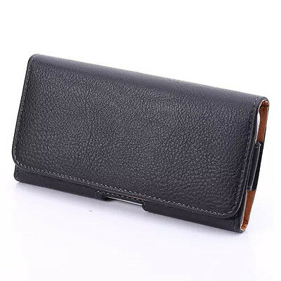 Leather Pouch Belt Clip Case Cover Holster For Samsung Galaxy S3 S4 S5 S6 Edge