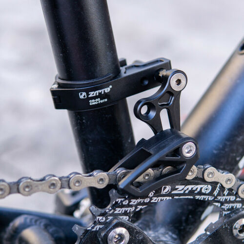 Mountain Bike Bicycle Chain Guide Protector Aluminum Alloy Chain Drop Catcher