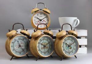 4-034-retro-campana-ruidosa-Doble-Alarma-Reloj-Cuarzo-No-Tictac-Mesita-de-noche-de-luz-de-noche