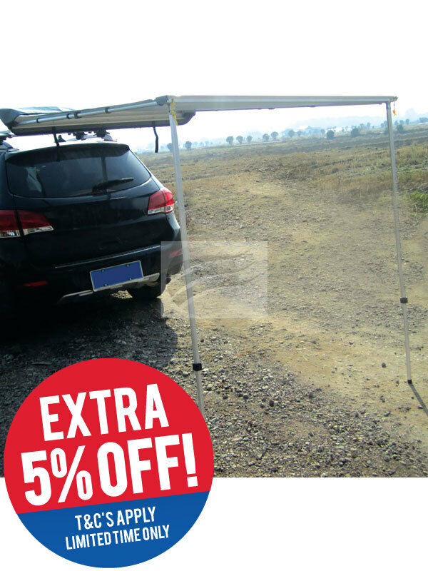 Hulk 4x4 Rear Awning 2M X 1.4M With Storage Bag (HU3025)