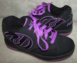 99cb2902e6 Heelys Propel 2.0 Skate Shoes #770370 – Black Purple Size Youth 4 ...