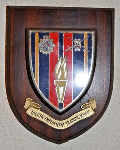Royal-Logistic-Corps-Logistic-Employment-Training-School-mess-plaque-shield-RLC