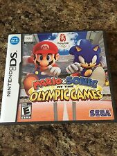 Mario & Sonic at the Olympic Games (Nintendo DS, 2008) Cib Complete NG2
