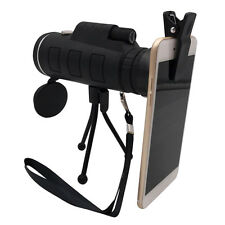 35x50 Single Optical  HD Monocular Cell Phone Camera Lens Telescope For Iphone