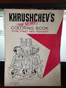 Khrushchev-039-s-Coloring-Book-YOUF-FIRST-RED-READER