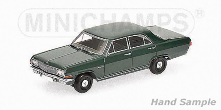 MINICHAMPS 400048001 - OPEL KAPITAN - 1964  - vert  1 43  marques en ligne pas cher vente