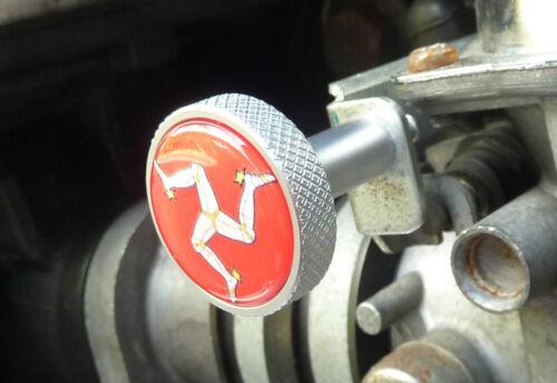 Triumph Choke Bouton Starter pointés THRUXTON BONNEVILLE AMERICA SPEEDMASTER IOM