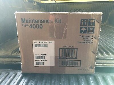 NEW GENUINE RICOH 402321 TYPE 4000 MAINTENANCE KIT CL4000DN OEM.