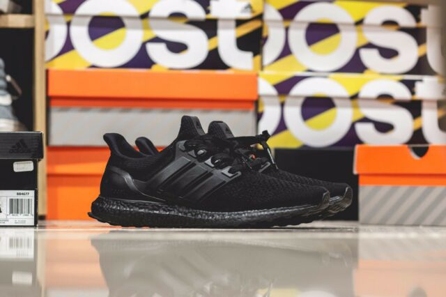58b224738 Adidas Ultra Boost OG 1.0 LTD Limited Triple Black BB4677 BLK Size 11.5