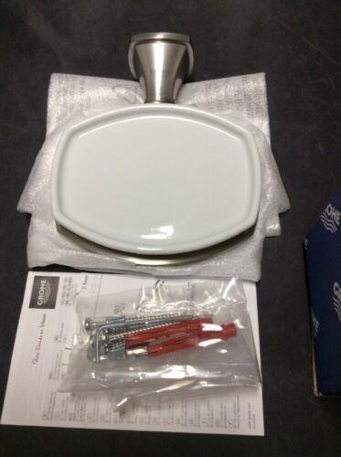 @@2 Grohe Grandera Soap Dish Brushed Nickel 40628EN0